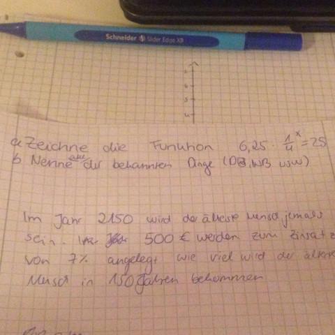Nur 1. a) ist interessant - (Schule, Mathematik, Wertetabelle)