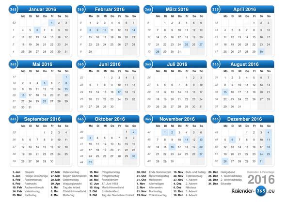 Kalenderbeispiel - (Microsoft, Excel, Tabelle)