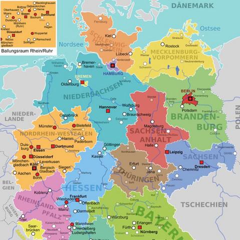 Wie Es Schon Auf Der Karte Zu Erkennen Ist Ist Hamburg Sehr