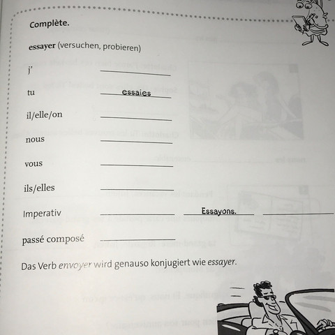 kommen konjugation französisch