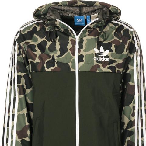 einfach adidas Camo Windbreaker Camouflage S61747 Adidas