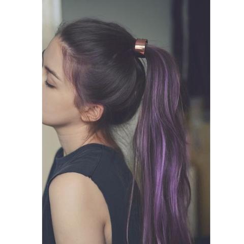 wie f rbe ich mir die haare so haarfarbe lila. Black Bedroom Furniture Sets. Home Design Ideas