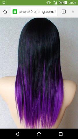 Wie Färbe Ich Mir Lila Verlaufende Selbst Haare