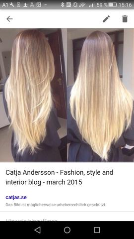 Wie Farbt Das Ein Friseur Ubergang Haare Farben