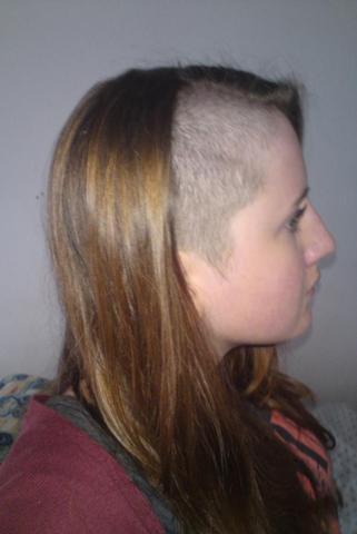 Sidecut vor 2 Wochen - (Haare, Haarfarbe)