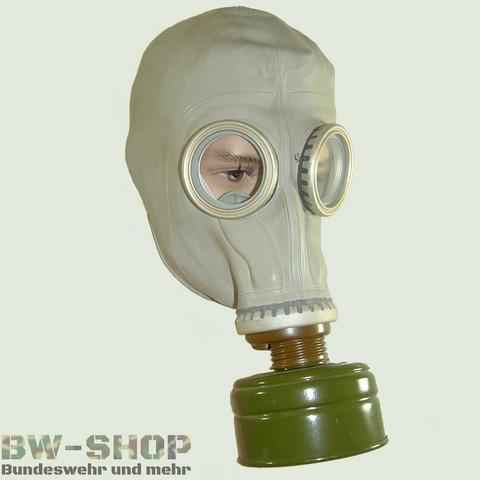 Wie fallen nva gasmasken aus?
