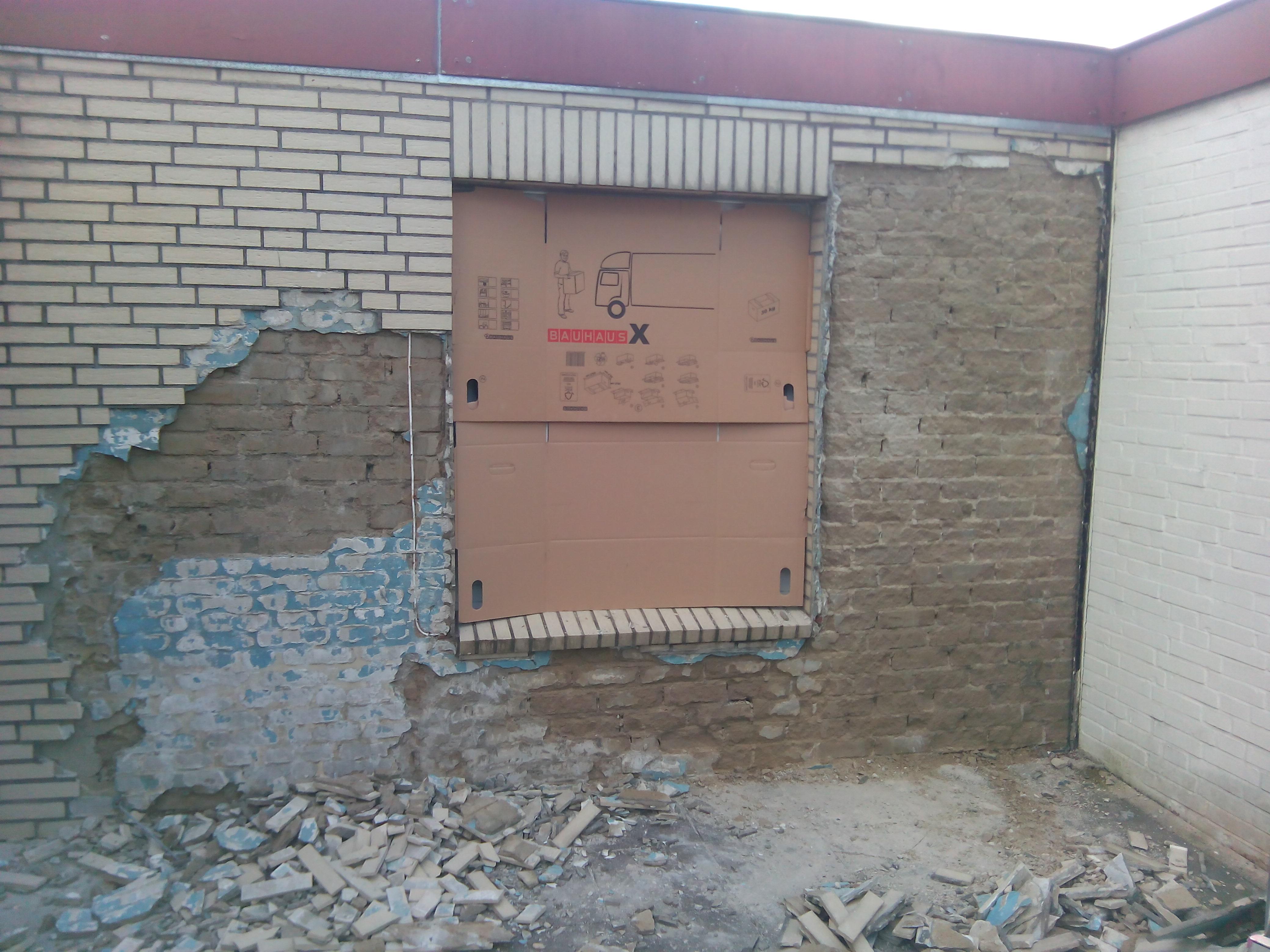 Außenmauer Verkleiden wie feuchte außenwand behandeln haus bau