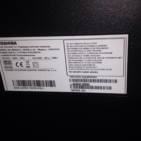 wie finde ich heraus welchen tv ich habe hilfeeee bitte elektronik fernseher lcd. Black Bedroom Furniture Sets. Home Design Ideas