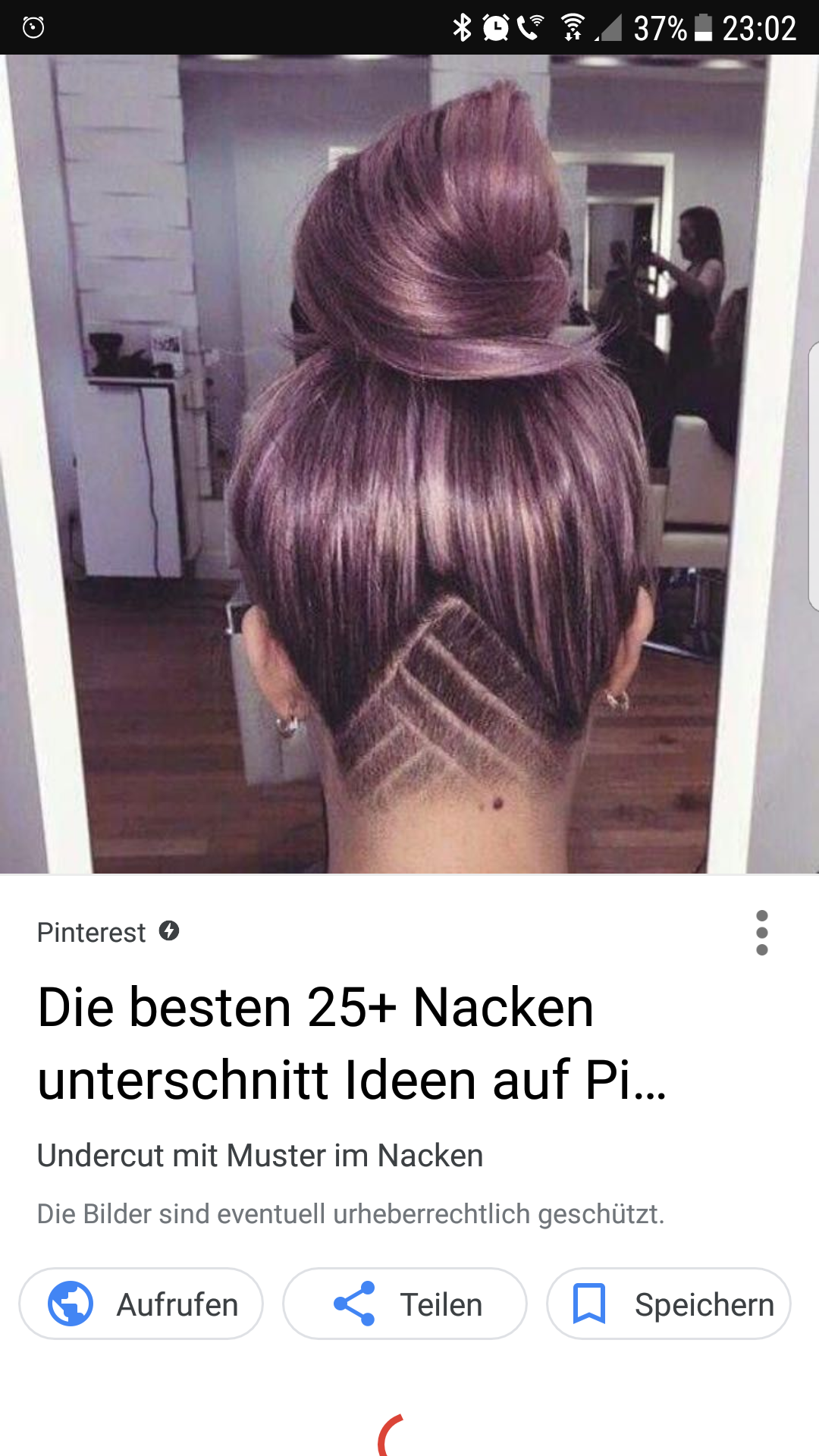 mode frisur undercut - Undercut Frauen Nacken Muster