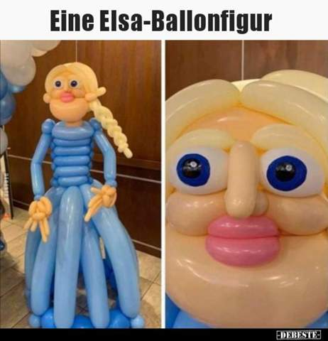 Wie findest du diese Elsa Ballonfigur?