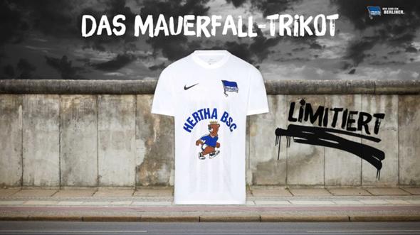 Wie findet ihr das Hertha BSC Trikot zum Mauerfall (Schulnote)?