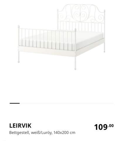wie findet ihr das Ikea Bett (Leirvik)?