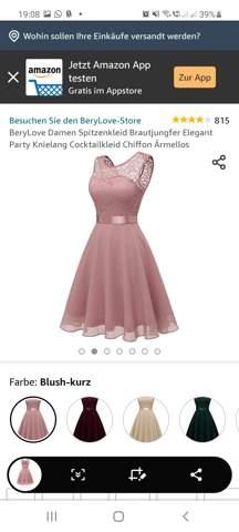 Wie findet ihr das Kleid?