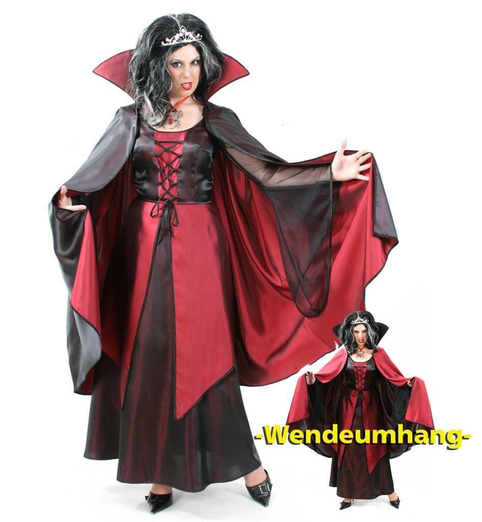 wie findet ihr das schwarz rote drakula kleid kost m. Black Bedroom Furniture Sets. Home Design Ideas