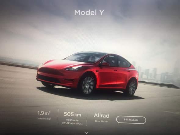 Wie findet ihr das Tesla Model Y?