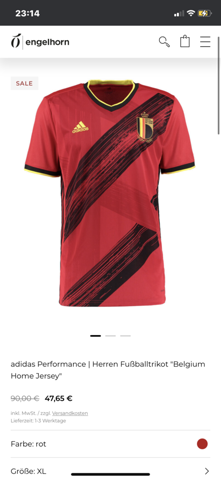 How do you find the jersey of Belgium?