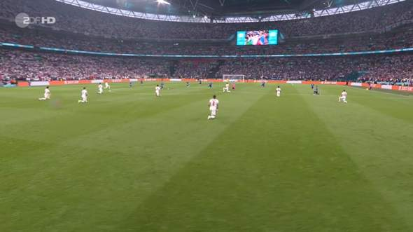 How do you find the Kniefall at the World Cup final?