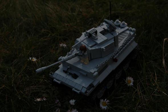 Lego WW2 Tiger Tank - (Lego, panzer)