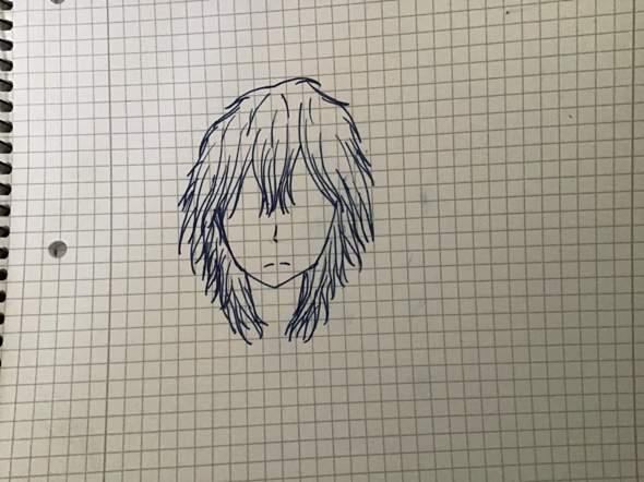 Wie findet ihr die Haare von der Zeichnung und habt ihr Tipps?