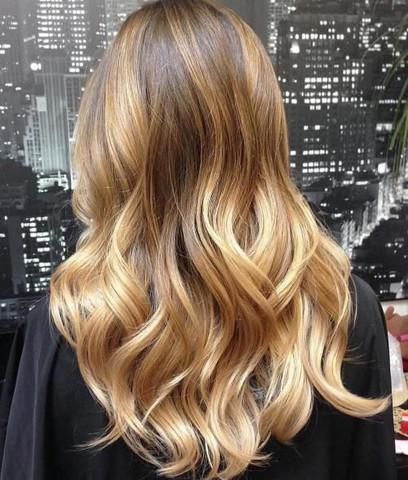 Wie findet ihr die Haarfarbe(Balayage)?