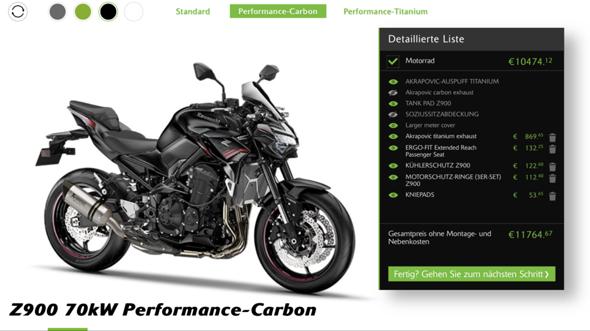 Wie findet ihr die Kawasaki Z900 als A2 Bike?