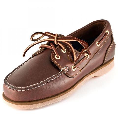 Wie findet ihr die klassischen Schnürschuhe von Timberland für Frauen? (Classic Boat Docksider)