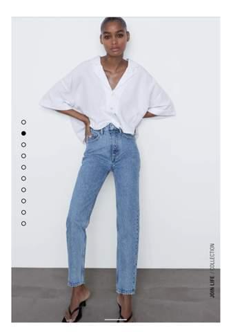 Wie findet ihr die mom jeans von zara?