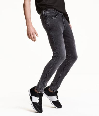 Tech Stretch Skinny Low Jeans - (Jungs, Mode, HM)
