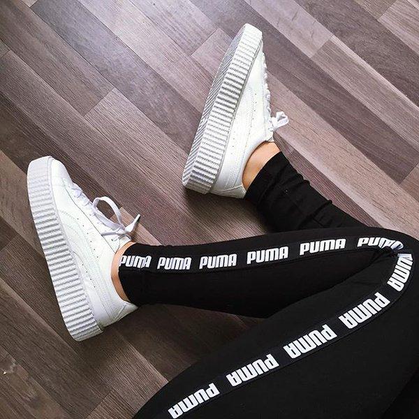 Puma Rihanna Creeper Weiß