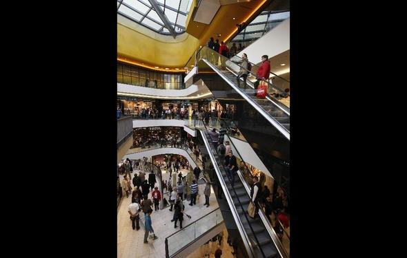 ein Bild vom Inneren der Thier Galerie:) - (Mode, shoppen, Stadt)