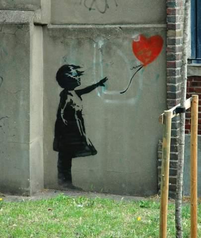 Wie findet ihr die werke von Banksy?