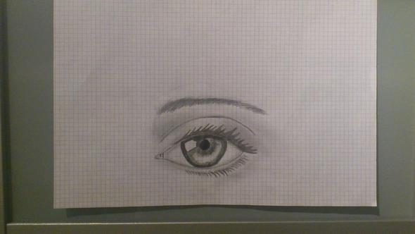 das ist das Auge - (Augen, Zeichnung)