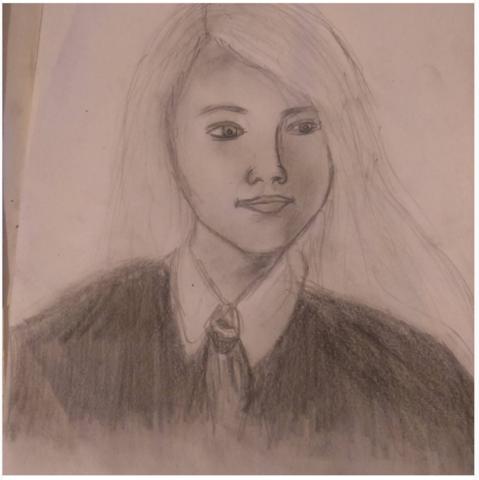 Luna Lovegood - (Zeichnung, 11 Jahre)