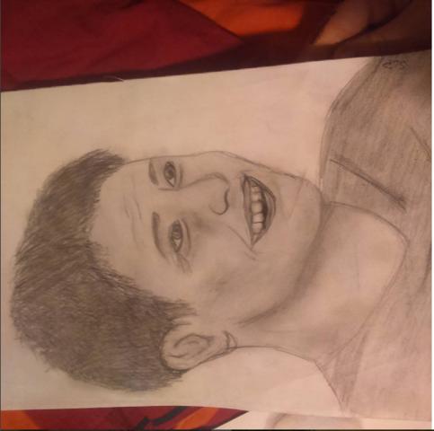 Jensen Ackles (sollte es jedenfalls sein) - (Zeichnung, 11 Jahre)