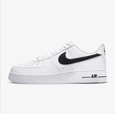 Wie findet ihr diese nike air force (weiß mit schwarzem Nike Zeichen)?