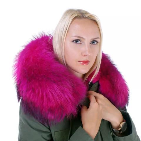 Nur der Kragen - (Mode, Winter, Jacke)