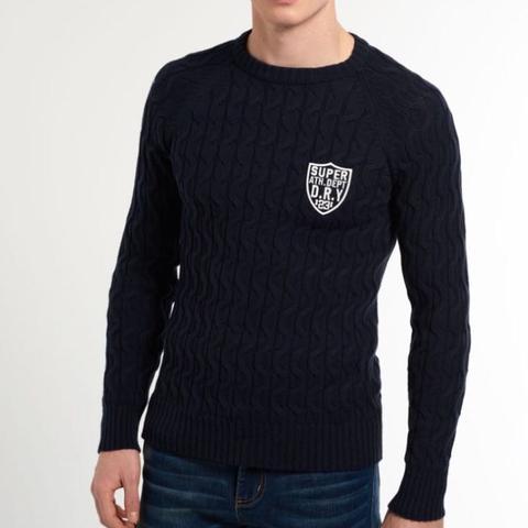 Wie findet ihr diesen Pullover von Superdry?