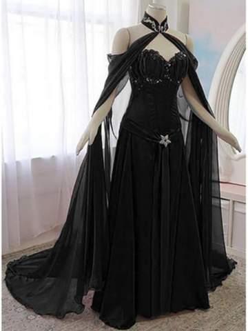 Wie findet ihr diesen vampir gothic kleid?