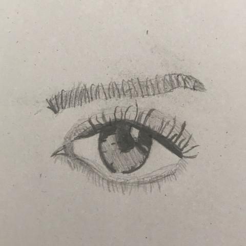 Wie Findet Ihr Dieses Auge Augen Zeichnen