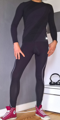 skinny sportoutfit - (Beauty, Aussehen, Outfit)