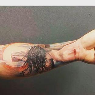 Wie findet ihr das? - (Tattoo, Jesus)