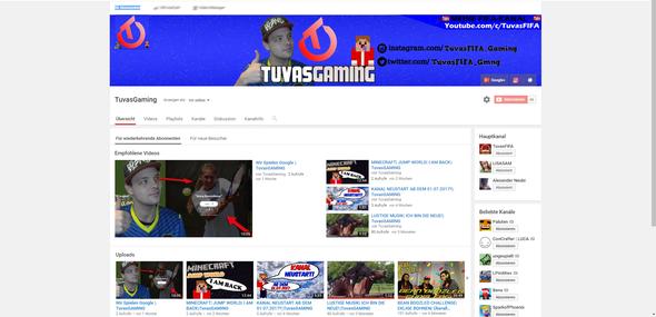 Tuvasgamingg - (Games, Youtube, Gaming)