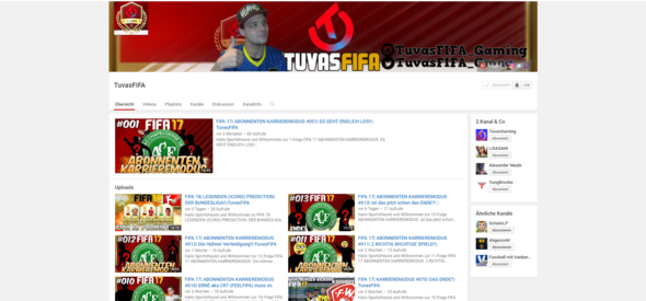 :D  - (Youtube, Facebook, Fifa)