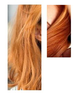 Färben blond rot Mal blond,