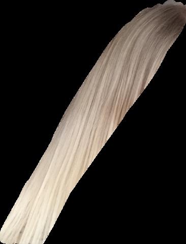 Ein Ausschnitt von meinen Haaren,eigentlich noch heller. - (Haare, hellblond)