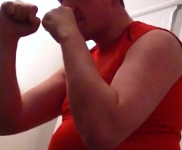 Der Kampf gegen mein Übergewicht - (Muskeln, Arm, Bizeps)