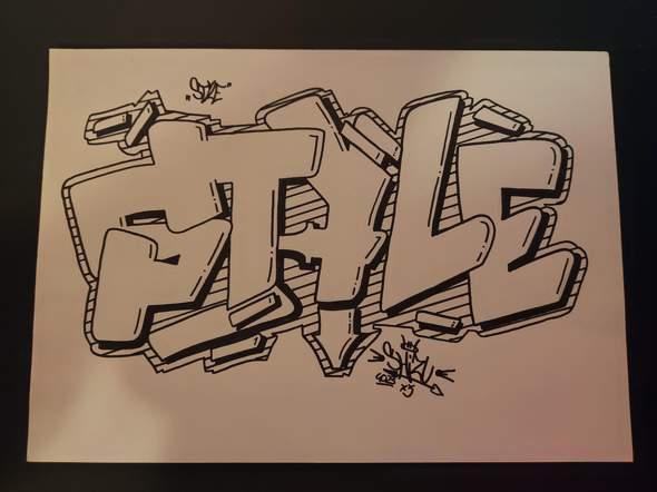 Wie findet ihr mein Graffiti :D?