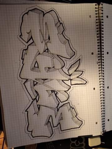 Wie findet ihr mein graffiti sketch?