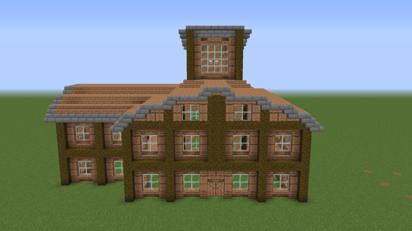 Wie findet ihr mein Minecraft Haus?