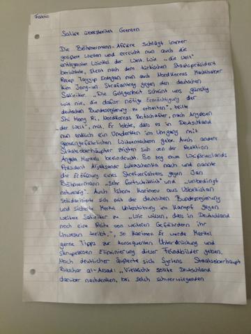 Wie Findet Ihr Meine Glosse Zum Thema Jan Bohmermann Und Erdogan Schule Deutsch Grammatik
